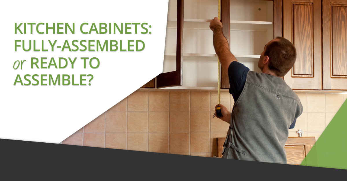 Kitchen cabinets from Denver Cabinet Express can be purchased fully assembled or ready to assemble (RTA). Sometimes it isnu0027t easy to know which option is ... & Kitchen Cabinets: Fully Assembled or Ready to Assemble? - Denver ...